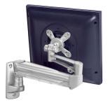 Ergonomic single wall mount gas monitor arm UK