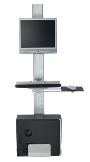 Wall rails brackets system and vertical monitor mount rail brackets in UK