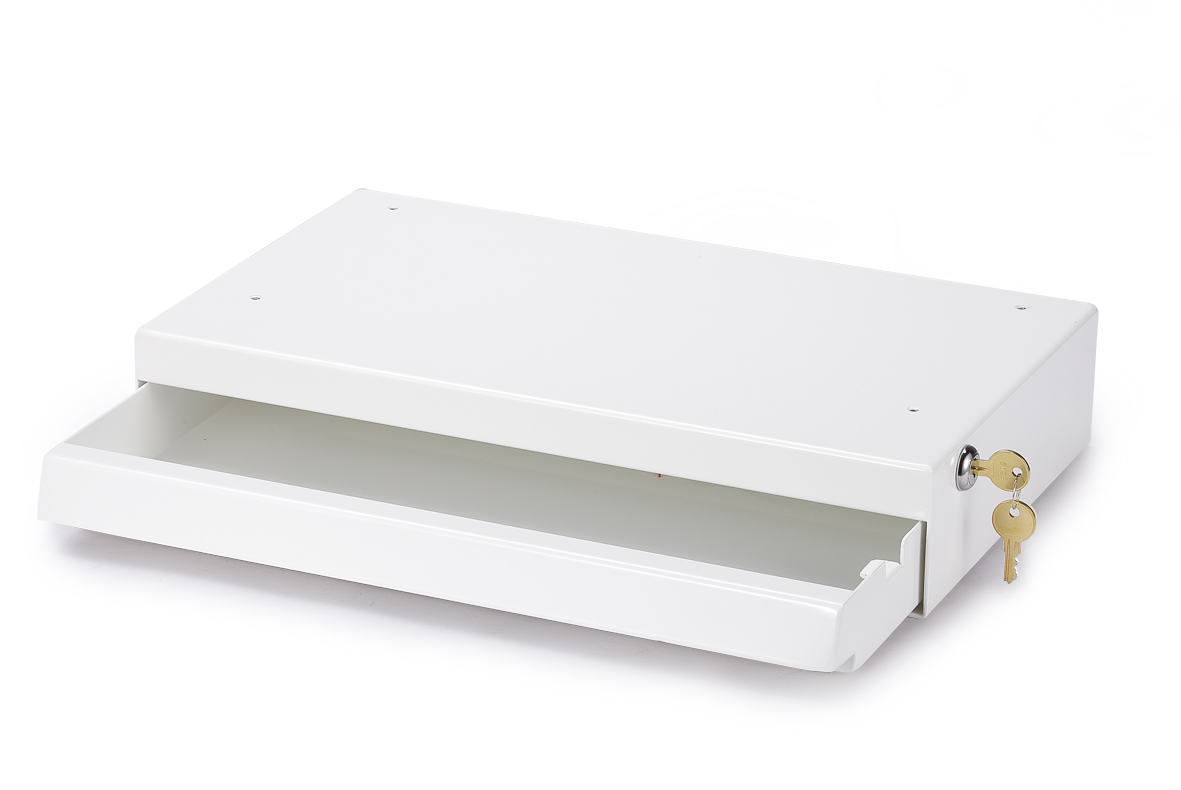 Sliding keyboard shelf tray with keylock UK